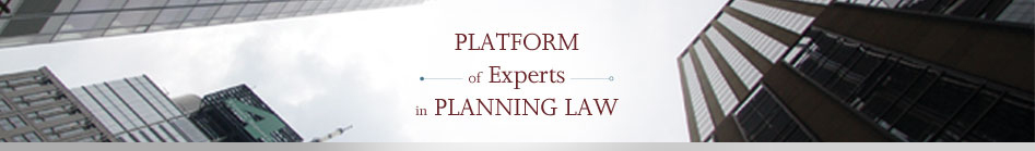 Co-Founder, <strong>Platform of Experts in Planning Law</strong> – click here for website.